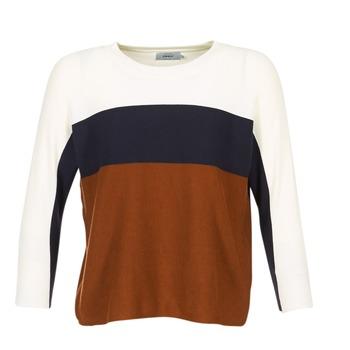 Abbigliamento Donna Maglioni Only REGITZE Bianco / MARINE / Marrone