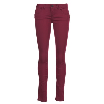Abbigliamento Donna Pantaloni 5 tasche Only LUCIA BORDEAUX