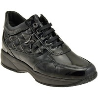 Scarpe Donna Sneakers basse Keys 7736 Active Zeppa nero