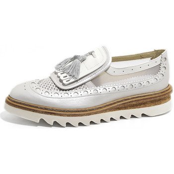 Scarpe Donna Mocassini Barracuda BARRACUDA SCARPE DONNA MOCASSINO NAPPINE BD0740C00MDS19E75D ARGE Argento
