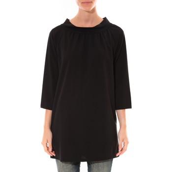 Abbigliamento Donna Tuniche Barcelona Moda Robe Margarita Noir Nero