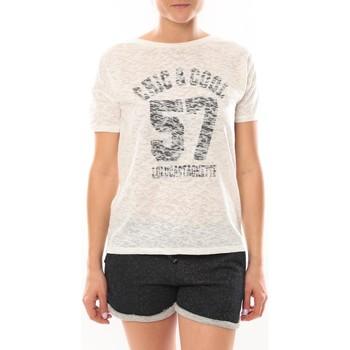Abbigliamento Donna T-shirt maniche corte LuluCastagnette T-shirt Cool Blanc Bianco