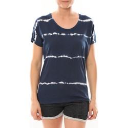 Abbigliamento Donna T-shirt maniche corte LuluCastagnette T-Shirt Bobo Marine Blu