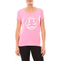 Abbigliamento Donna T-shirt maniche corte LuluCastagnette T-shirt Happy Rose Rosa