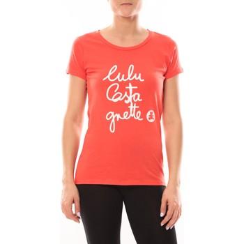 Abbigliamento Donna T-shirt maniche corte LuluCastagnette T-shirt Muse Rouge Rosso