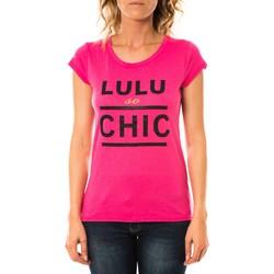 Abbigliamento Donna T-shirt maniche corte LuluCastagnette T-shirt Chicos Rose Rosa