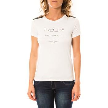 Abbigliamento Donna T-shirt maniche corte LuluCastagnette T-shirt Funk Blanc Bianco