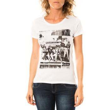 Abbigliamento Donna T-shirt maniche corte LuluCastagnette T-shirt Mag Blanc Bianco