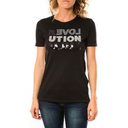 Abbigliamento Donna T-shirt maniche corte LuluCastagnette T-shirt Sequy Noir Nero