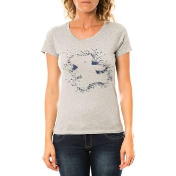 Abbigliamento Donna T-shirt maniche corte LuluCastagnette T-shirt Troupe Gris Grigio