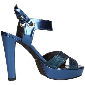Scarpe Donna Sandali Emporio Di Parma 628 Sandalo Donna Blu Blu
