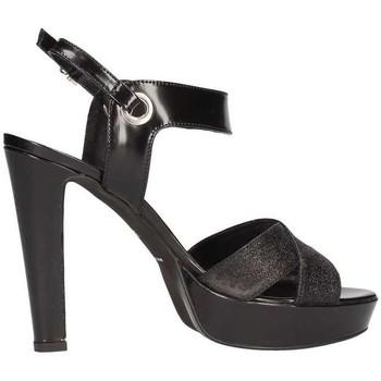 Scarpe Donna Sandali Emporio Di Parma 628 Sandalo Donna Nero Nero