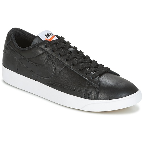 Nike Sneakers basse BLAZER LOW LEATHER W spartoo-shoes neri Pelle Precio Barato Clásica N14AnbcJbl