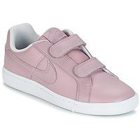Scarpe Bambina Sneakers basse Nike COURT ROYALE CADET Rosa