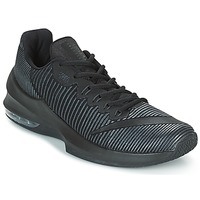 Scarpe Uomo Pallacanestro Nike AIR MAX INFURIATE 2 LOW Nero