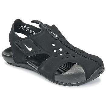 Scarpe Unisex bambino Sandali Nike SUNRAY PROTECT 2 TODDLER Nero / Bianco