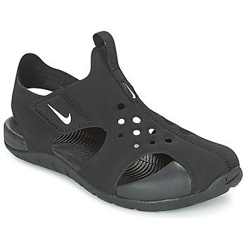Scarpe Bambino Sandali Nike SUNRAY PROTECT 2 CADET Nero / Bianco