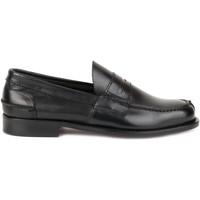 Scarpe Uomo Mocassini Saxone Of Scotland Scarpe Mocassino Uomo N1000 CRUST BLACK Primavera Estate 2 Nero