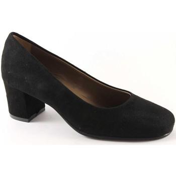 Scarpe Grunland  SETA SC1569 nero scarpe donna decolletè camoscio