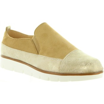 Scarpe Donna Slip on Top Way B719403-B7200 Gold