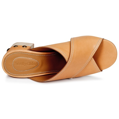 See Donna by Chloé SB30083 Camel  Scarpe Ciabatte Donna See 220 577a6a