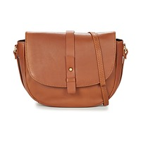 Borse Donna Tracolle Betty London LUISA Cognac