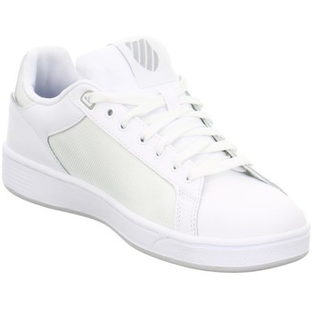 Scarpe Donna Sneakers basse K-Swiss Clean Court Cmf Bianco