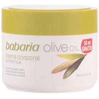 Bellezza Donna Idratanti & nutrienti Babaria Aceite De Oliva Crema Nutritiva Corporal  250 ml