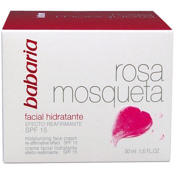 Bellezza Donna Idratanti e nutrienti Babaria Rosa Mosqueta Hidratante 24h Crema Facial  50 ml