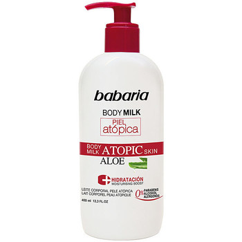 Bellezza Idratanti & nutrienti Babaria Piel Atopica Aloe Vera Body Milk 0%  400 ml