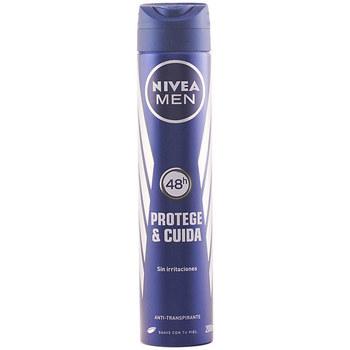 Bellezza Uomo Deodoranti Nivea Men Protege & Cuida Deo Vaporizador  200 ml