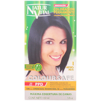 Bellezza Accessori per capelli Naturaleza Y Vida Coloursafe Tinte Permanente 1-negro  150 ml