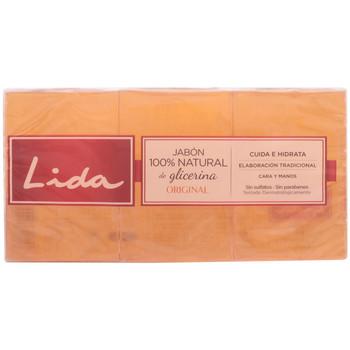 Bellezza Corpo e Bagno Lida Jabon 100% Natural Glicerina Original Lote 3 Pz 3 u