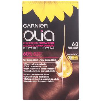 Bellezza Accessori per capelli Garnier Olia Coloración Permanente 6,0 Rubio Oscuro 4 Pz 4 u