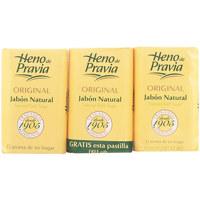 Bellezza Accessori per manicure Heno De Pravia Original Jabon Natural Lote 3 X 115 Gr