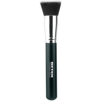 Bellezza Donna Pennelli Beter Brocha Maquillaje Kabuki Plana Pelo Sintético  17 cm