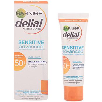 Bellezza Protezione solari Garnier Sensitive Advanced Crema Facial Spf50+  50 ml