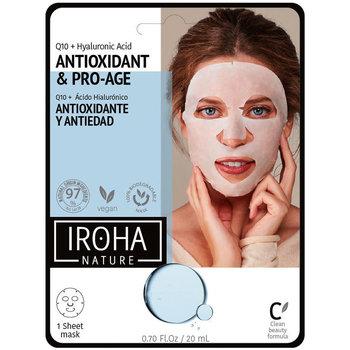 Bellezza Donna Maschere & scrub Iroha Nature Tissue Mask Antiwrinkles Q10 + Ha  1 use