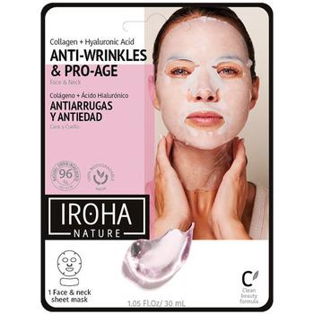 Bellezza Donna Maschere & scrub Iroha 100% Cotton Face & Neck Mask Collagen-antiage  1 use