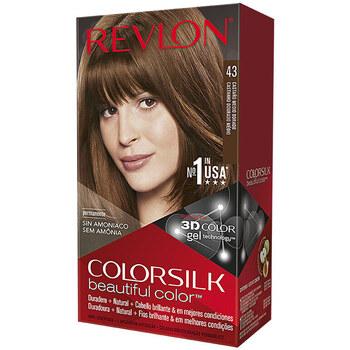 Bellezza Donna Accessori per capelli Revlon Colorsilk Tinte 43-castaño Medio Dorado 1 u