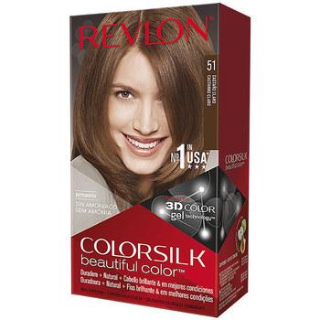 Bellezza Donna Accessori per capelli Revlon Colorsilk Tinte 51-castaño Claro 1 u