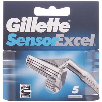 Bellezza Uomo Dopobarba Gillette Sensor Excel Cargador  5 recambios