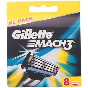 Bellezza Uomo Dopobarba Gillette Mach 3 Cargador  8 recambios