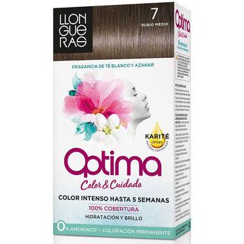 Bellezza Accessori per capelli Llongueras Optima Hair Colour 7 Rubio Medio