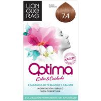 Bellezza Accessori per capelli Llongueras Optima Hair Colour 7.4-rubio Cobrizo 1 u