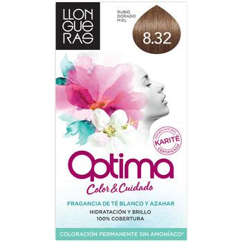 Bellezza Accessori per capelli Llongueras Optima Hair Colour 8.32-light Blond Natural 1 u