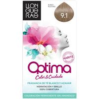Bellezza Accessori per capelli Llongueras Optima Hair Colour 9.1-very Light Blond Cendre 1 u