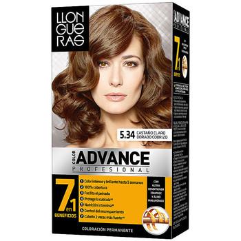 Bellezza Accessori per capelli Llongueras Color Advance 5,34 Castaño Claro Dorado Cobrizo 1 u