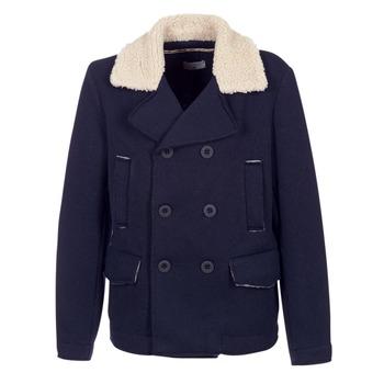 Abbigliamento Uomo Cappotti Casual Attitude HAXO MARINE