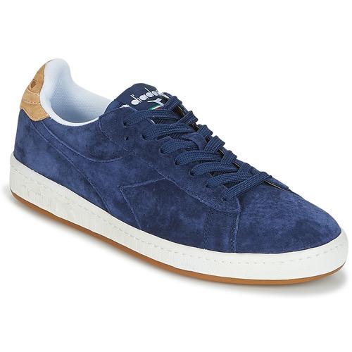 Diadora GAME LOW SUEDE Blu  Scarpe Sneakers basse Uomo 72